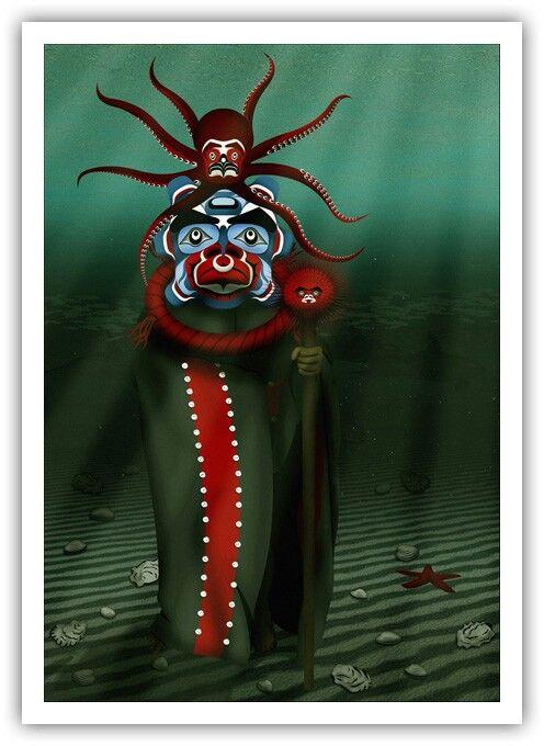 Komo Gway ~ Chief of the Undersea Kingdom ~ Andy Everson