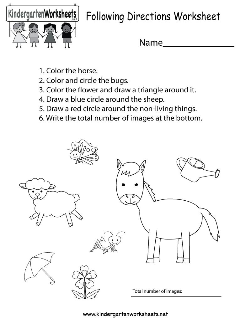 Awesome Wohnund Arbeitsblatt Nonliving Illustration - Kindergarten ...