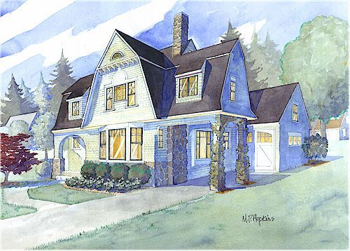 Shingle Style House Plans By Maine Coast Cottage Co Offering Blueprints Reminiscent Of The New En Cape Cod House Plans Shingle House Plans Cottage House Plans