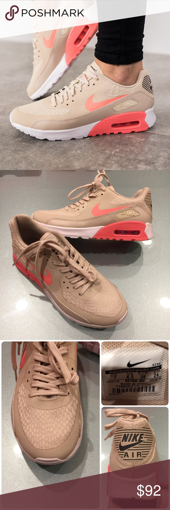 best website 1f6d9 cdf16 🌷Mint🌷 NIKE Air Max 90 Ultra 2.0 ~ size 7 worn only once ~