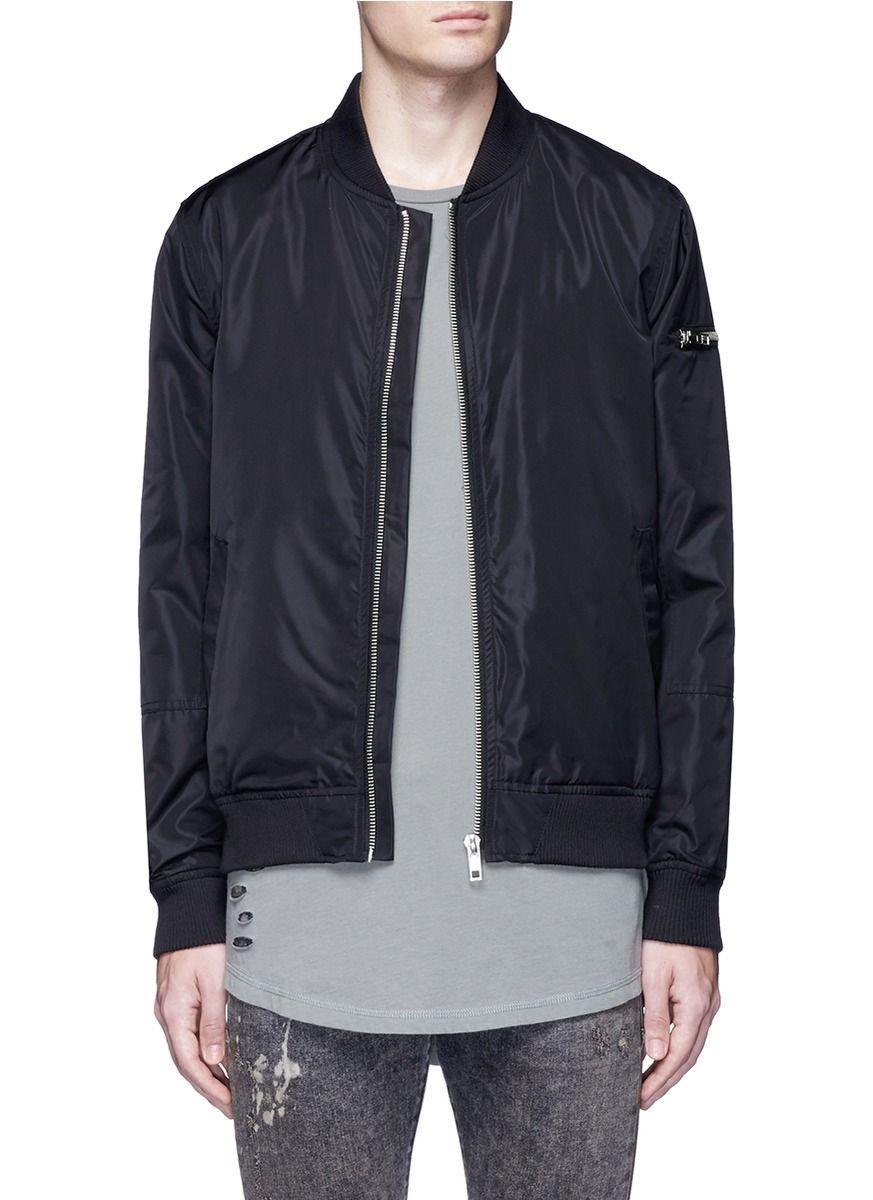 TOPMAN Twill Bomber Jacket. #topman #cloth #jacket