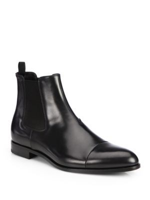 A well crafted boot for the distinguished gentleman of style, crafted in Italy with a long-lasting leather sole.Leather upperLeather liningPadded insoleLeather soleMade in Italy