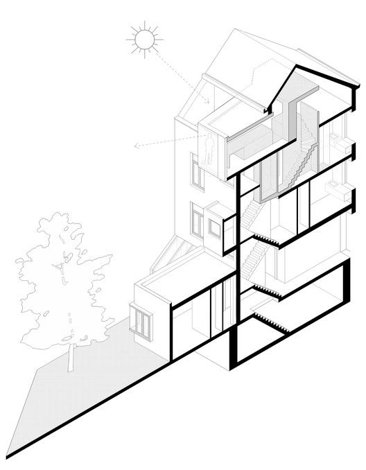 Terraced House Renovationdiagram