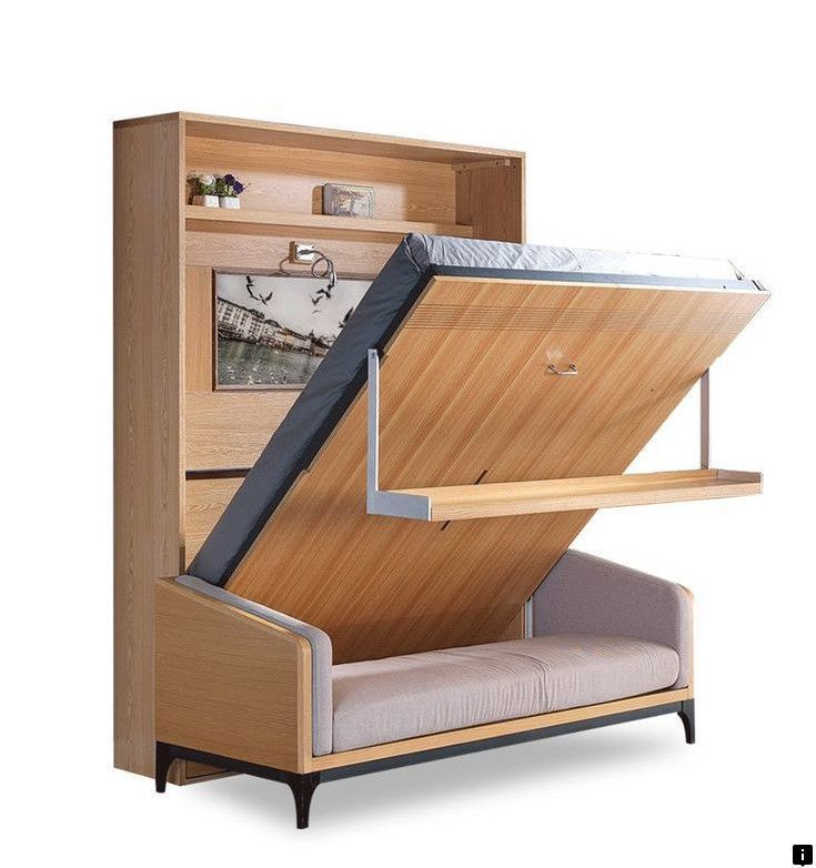 Click On The Link For More Info Wall Bed Ikea Please Here To Read Space Saving Furniture Tiny Houses Bedroom Murphy Diy