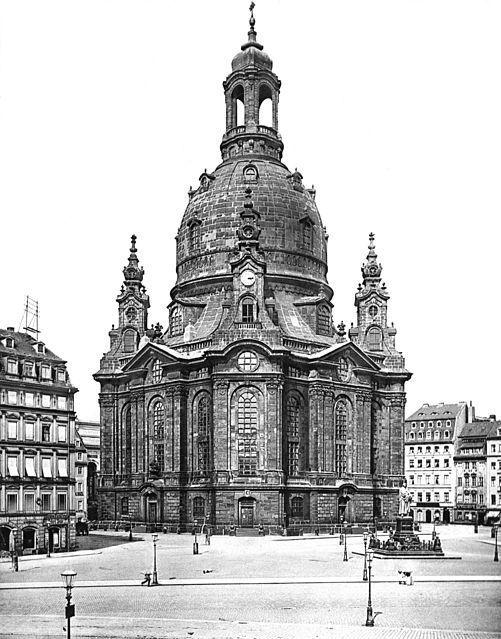 Die Frauenkirche um 1897