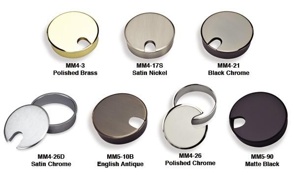 Fine Architectural Hardware For Your Fine Furniture Grommets Metal Grommets Fine Furniture