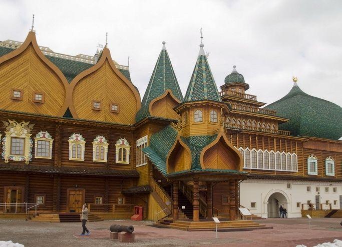 palace, the property of a Russian Tsar Aleksey Mikhailovich Romanov