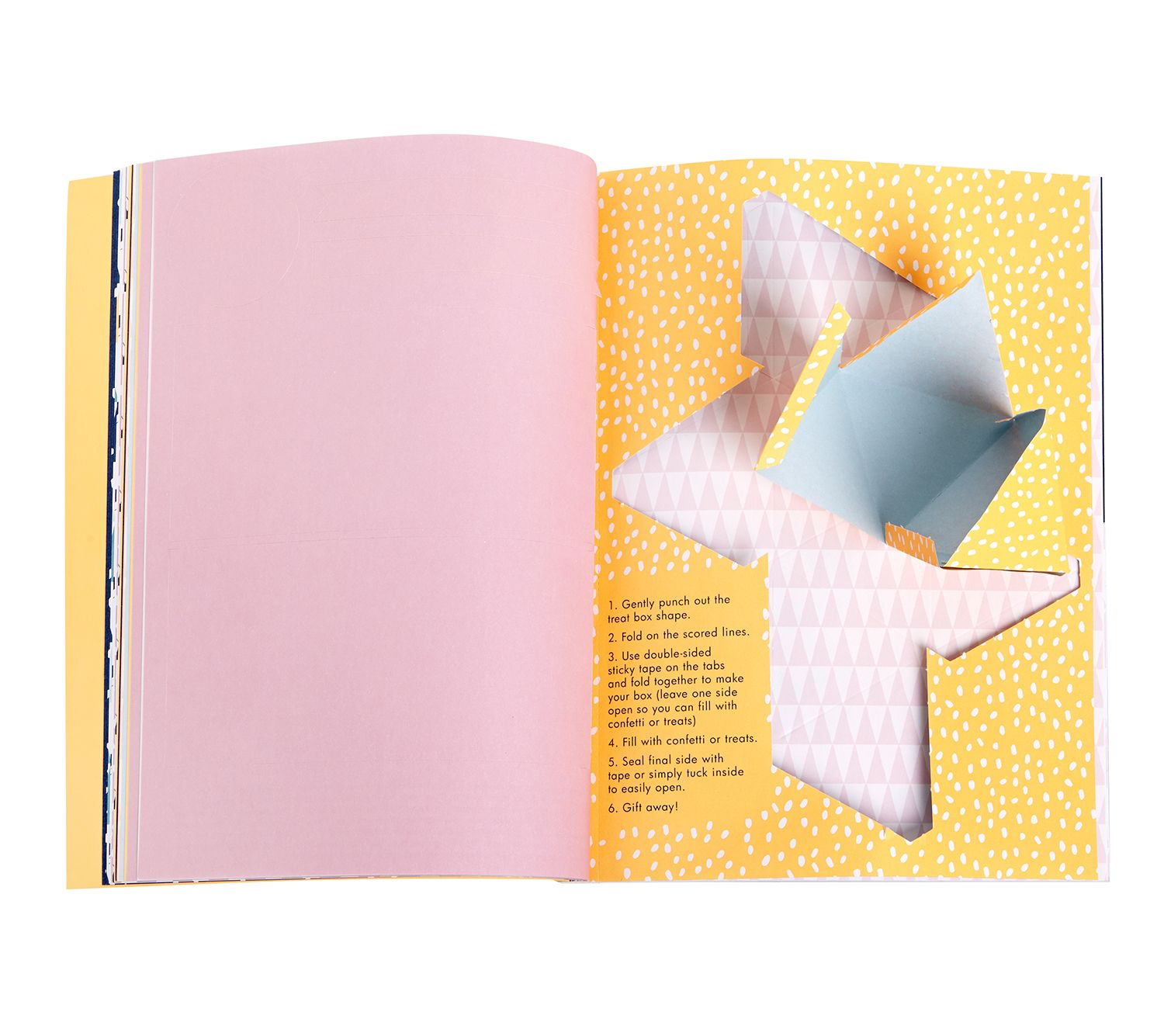 Great DIY and Paper Craft tool - our Paper Lover's Book is full of customising great ideas, from wrapping to bunting.