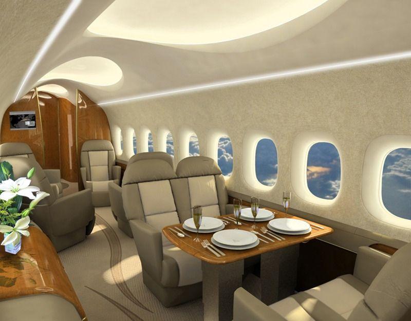 The New Concord Interior Private Jet Interior Private Jet Luxury Private Jets