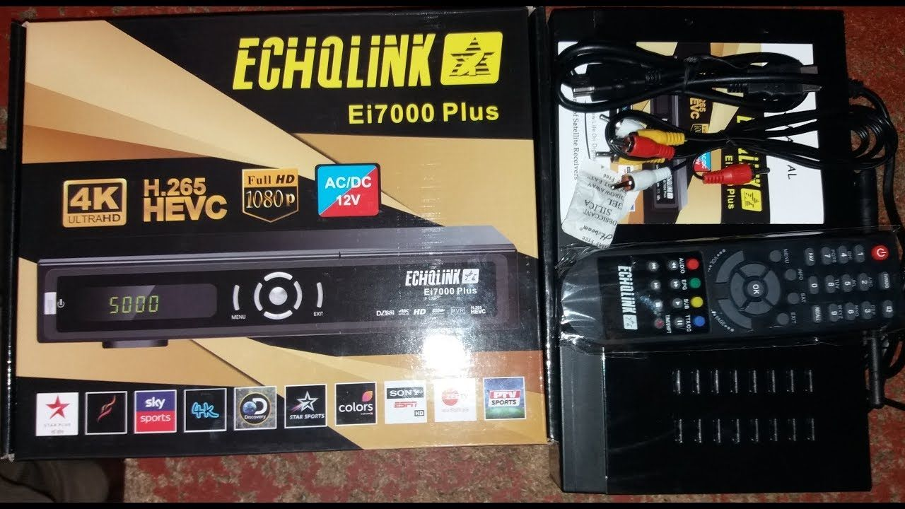 Echolink Ei 7000 Plus 4k Ultra Hd Sim Receiver Review 2018 Free Software Download Sites Satellite Tv Ultra Hd