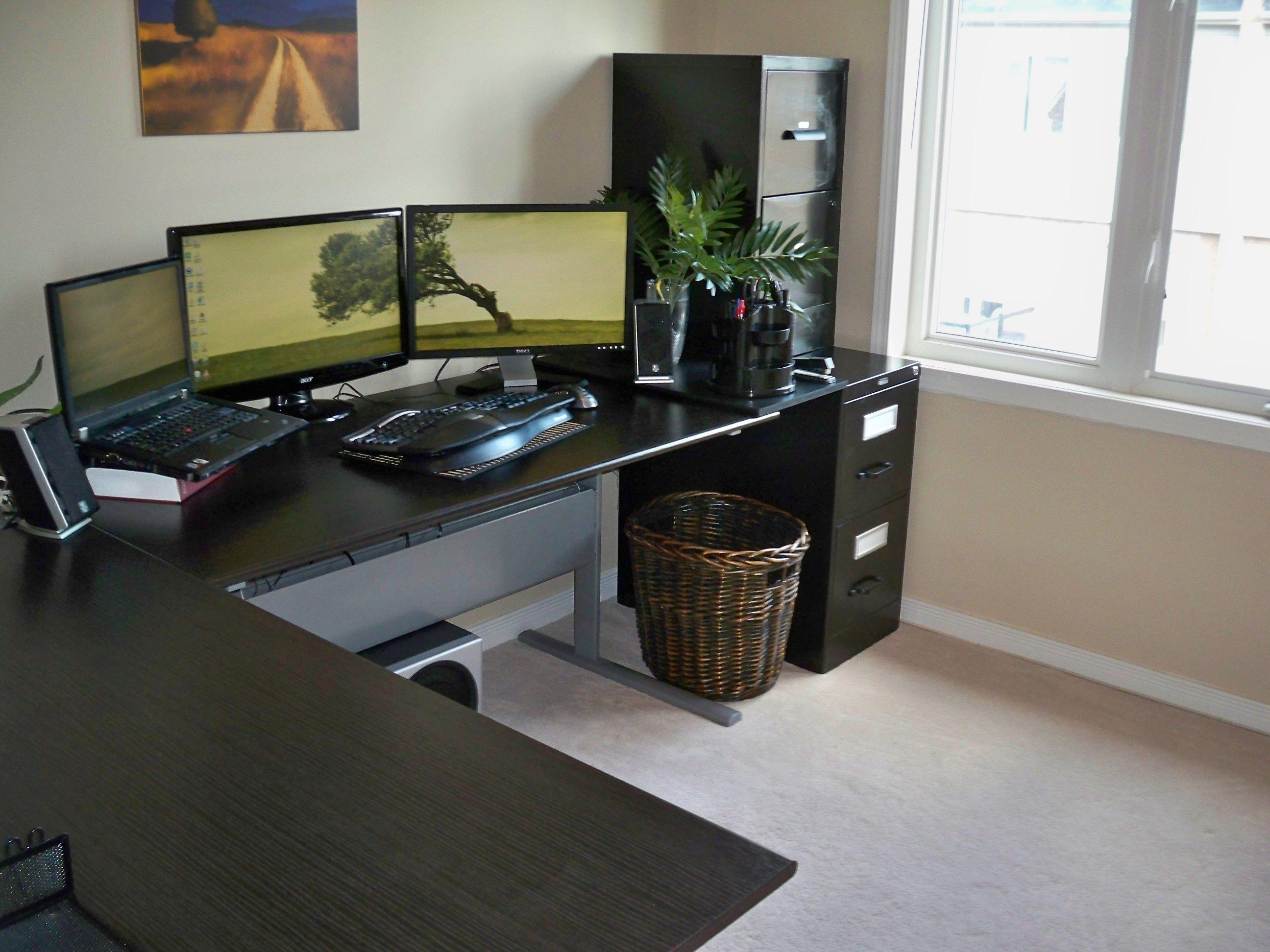 l onsingularity setups shaped and of ground gaming desk desks computer best com cool high