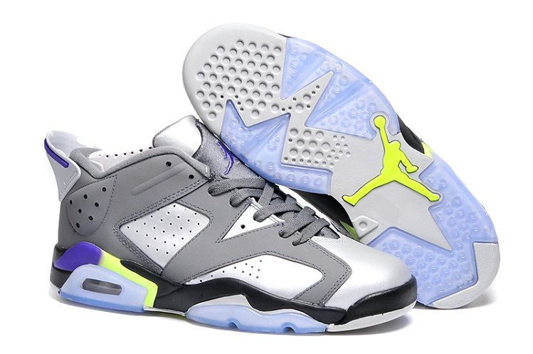 c4e0dcfca46216 ... top quality latest and newest jordan 6 grey white yellow purple black  9b3d1 43fed australia men air jordan retro ...
