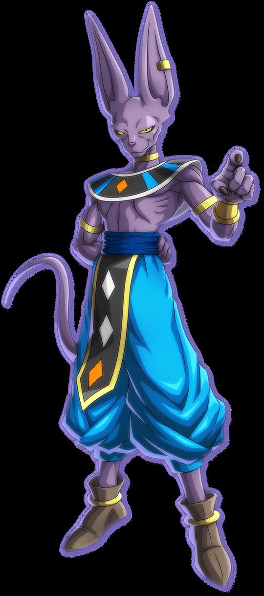 Beerus Dragon Ball Fighterz Personagens De Anime Dragon Ball