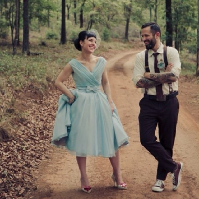 Rockabilly Wedding Ideas: Pin By Cal Bernsen On Great Looks