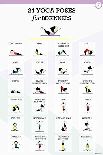 24 Yoga Poster Poses