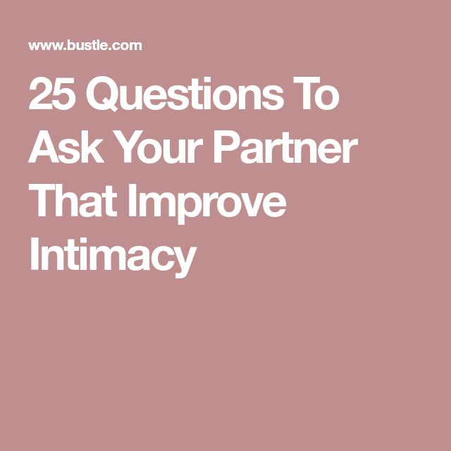 Afraid of intimacy quiz
