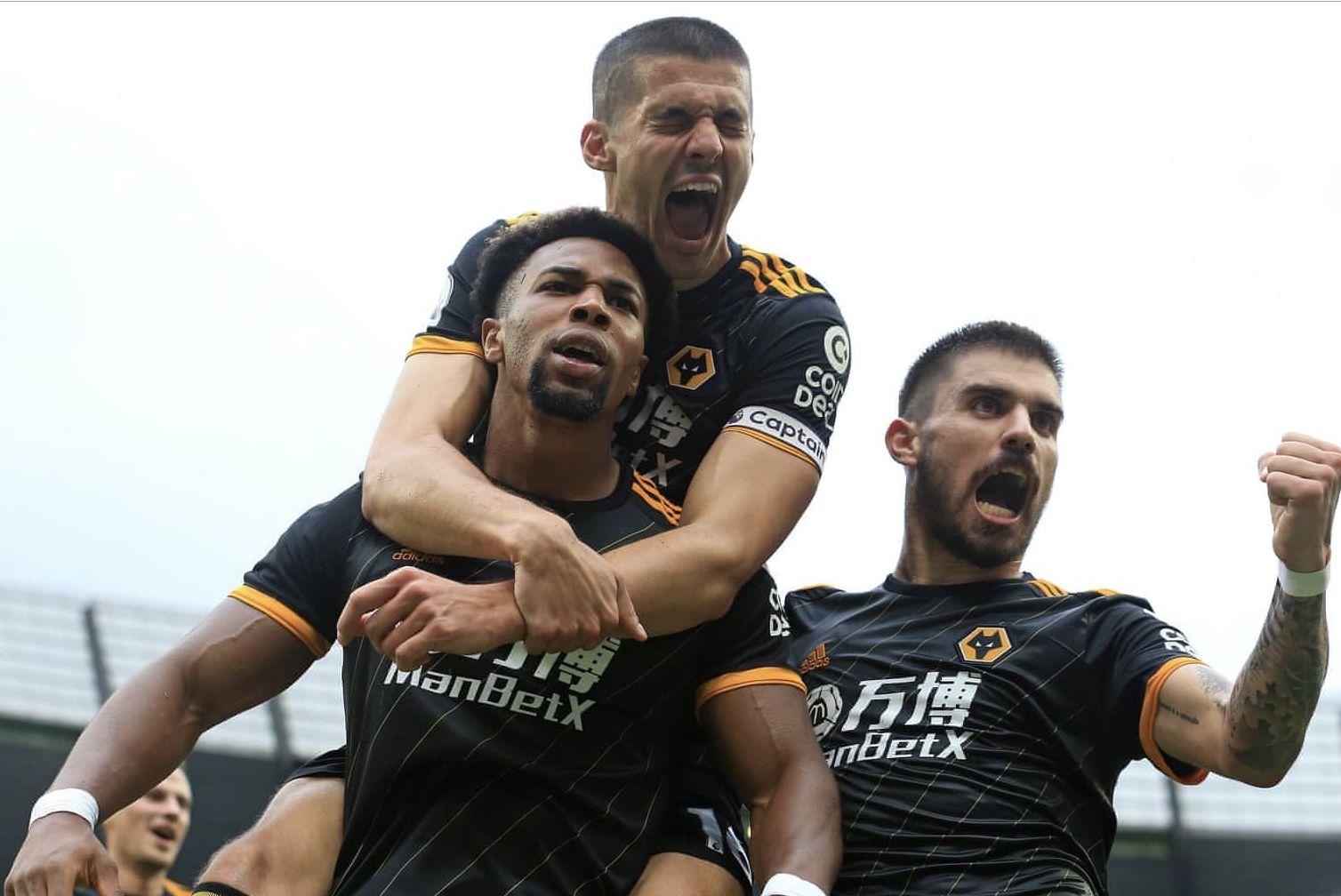 20191006 Manchester City 0 2 Wolverhampton Adama Traore Wolverhampton Premier League Manchester City