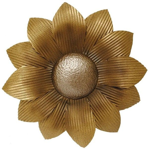 New View Metal Sunflower Wall Decor ($30) ❤ Liked On Polyvore Featuring  Home, Part 94