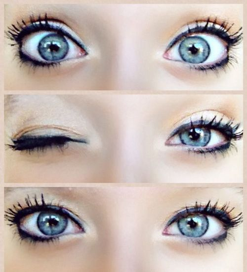 blue makeup for big eyes Blue Eye Makeup Looks | Make up ...