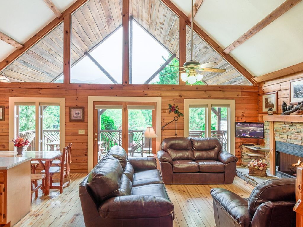 near friendly cabins pet rental gatlinburg homeaway rentals mountains frindl vacation cabin smoky