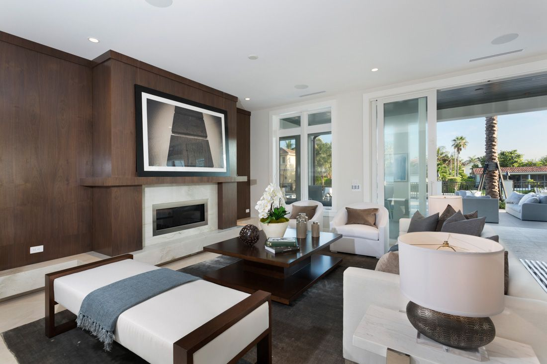 Delray Beach Transitional Home Coastal Living Rooms Home
