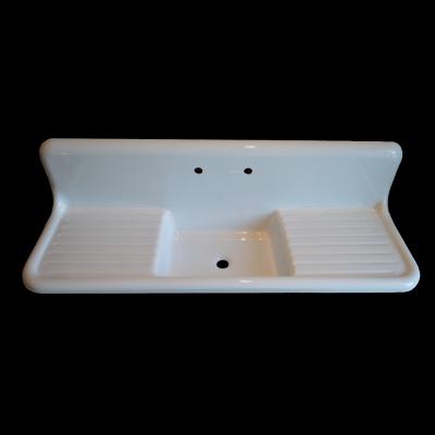 Reproduction Farmhouse Drainboard Sink 1 House Ideas Plumbing Fixtures Pinterest Sinks
