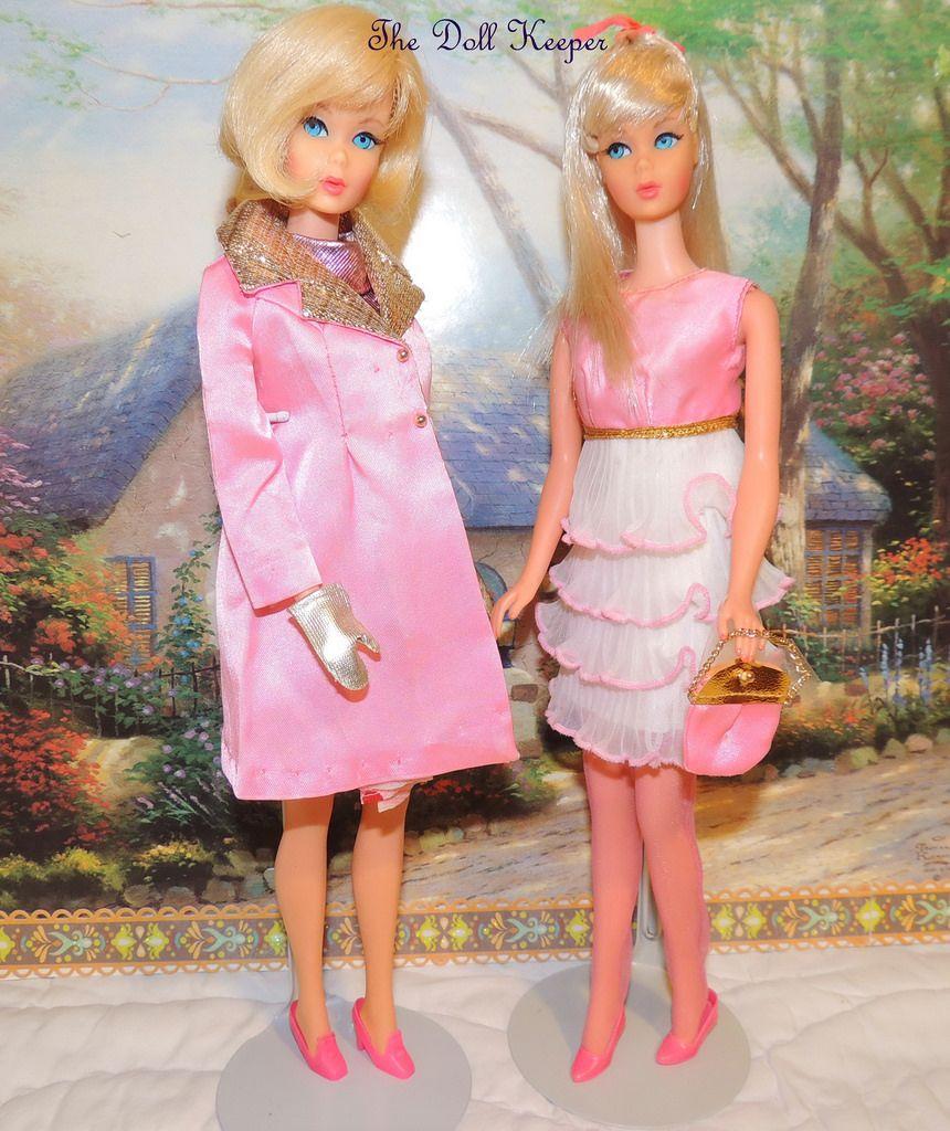 Vintage Mod TNT Platinum Barbie & Blonde Hair Fair in JC Penney Pink ...