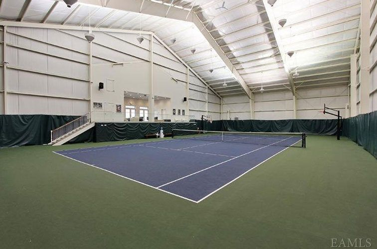 Buttoned-Up Colonial Stocked With Indoor Tennis Complex | Indoor ...
