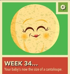 34 Weeks Pregnant Update