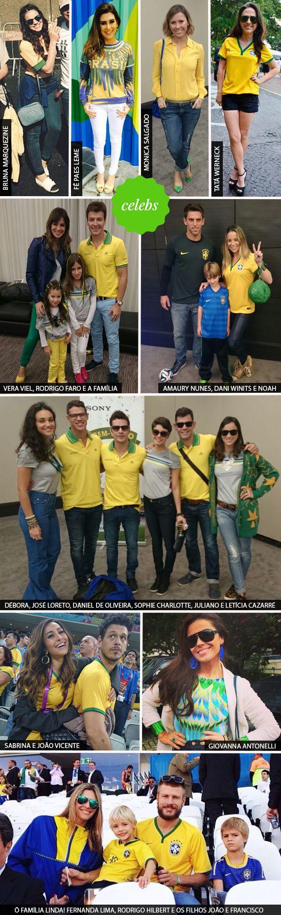 Genacopa Looks Da Galera Na Estreia Do Brasil Look Copa