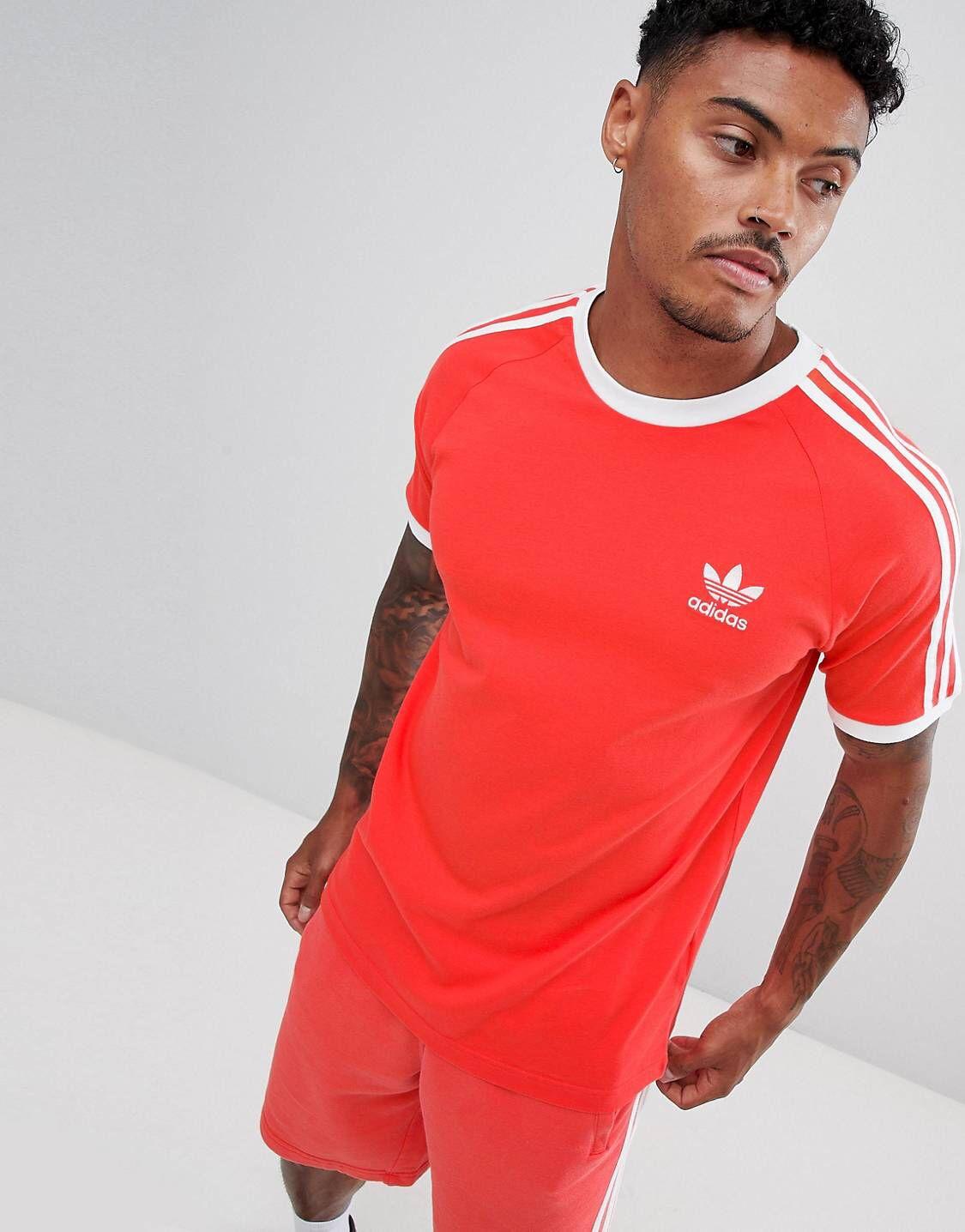 Tee Shirt Adidas Rouge 1