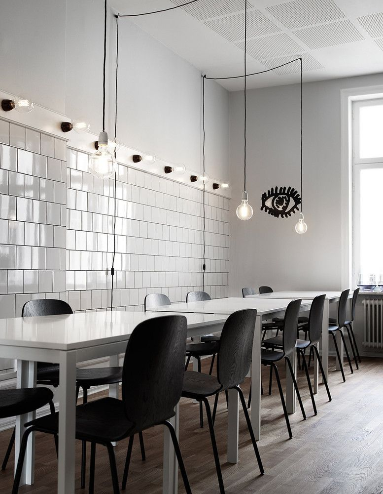 Ikea S Swedish Office Is Full Of Decor Inspiration Domino Scandinavian Dining Room Apartment Dining Room Interior