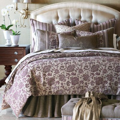 Eastern Accents Mica Button Tufted Comforter Collection Luxury