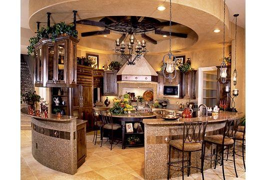 Circular kitchen design with bar k chen pinterest for Planung wohnungseinrichtung