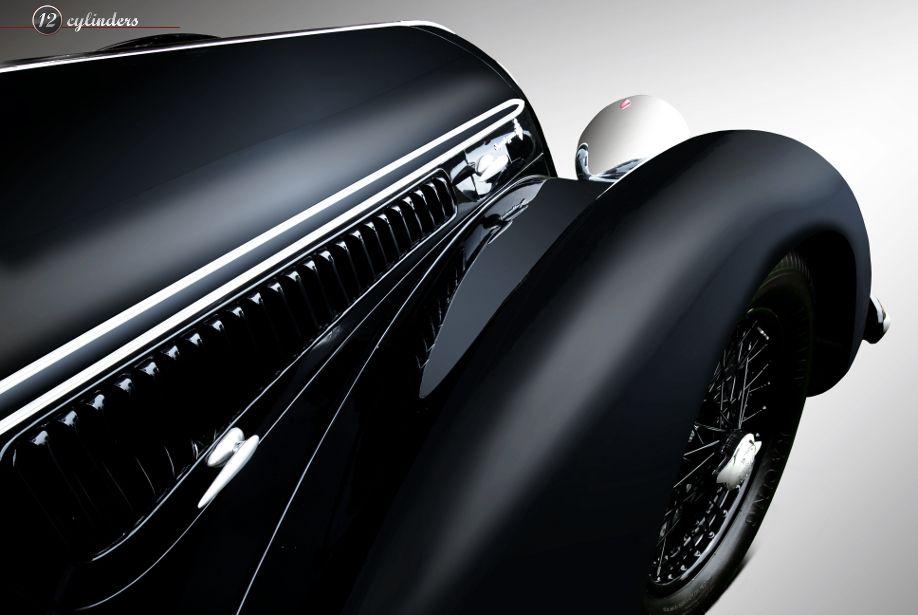 Alfa Romeo 8C 2900-B Touring Spyder, 1938