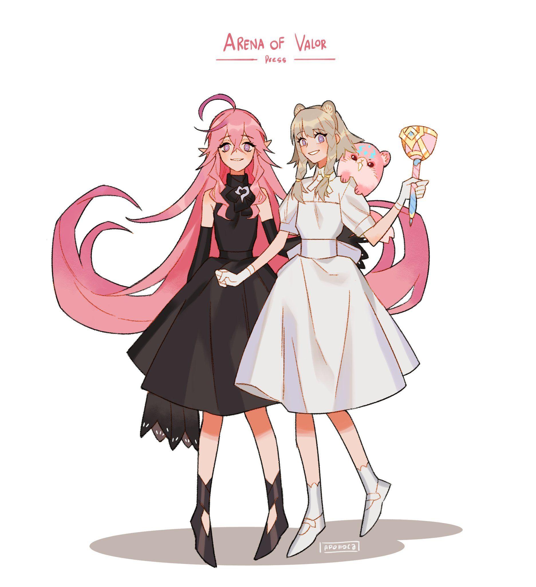D น วล Feat นอนน อย On Twitter Anime Fan Art Anime Drawings