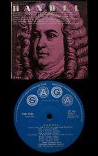 ELI GOREN VIOLIN JANET CRAXTON OBOE HANDEL CONCERTO SONATA UK ARC SAGA MONO LP