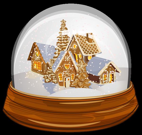 Transparent Christmas Snowglobe Png Clipart Png 600 570 Snow Globes Christmas Snow Globes Holiday Snow Globe