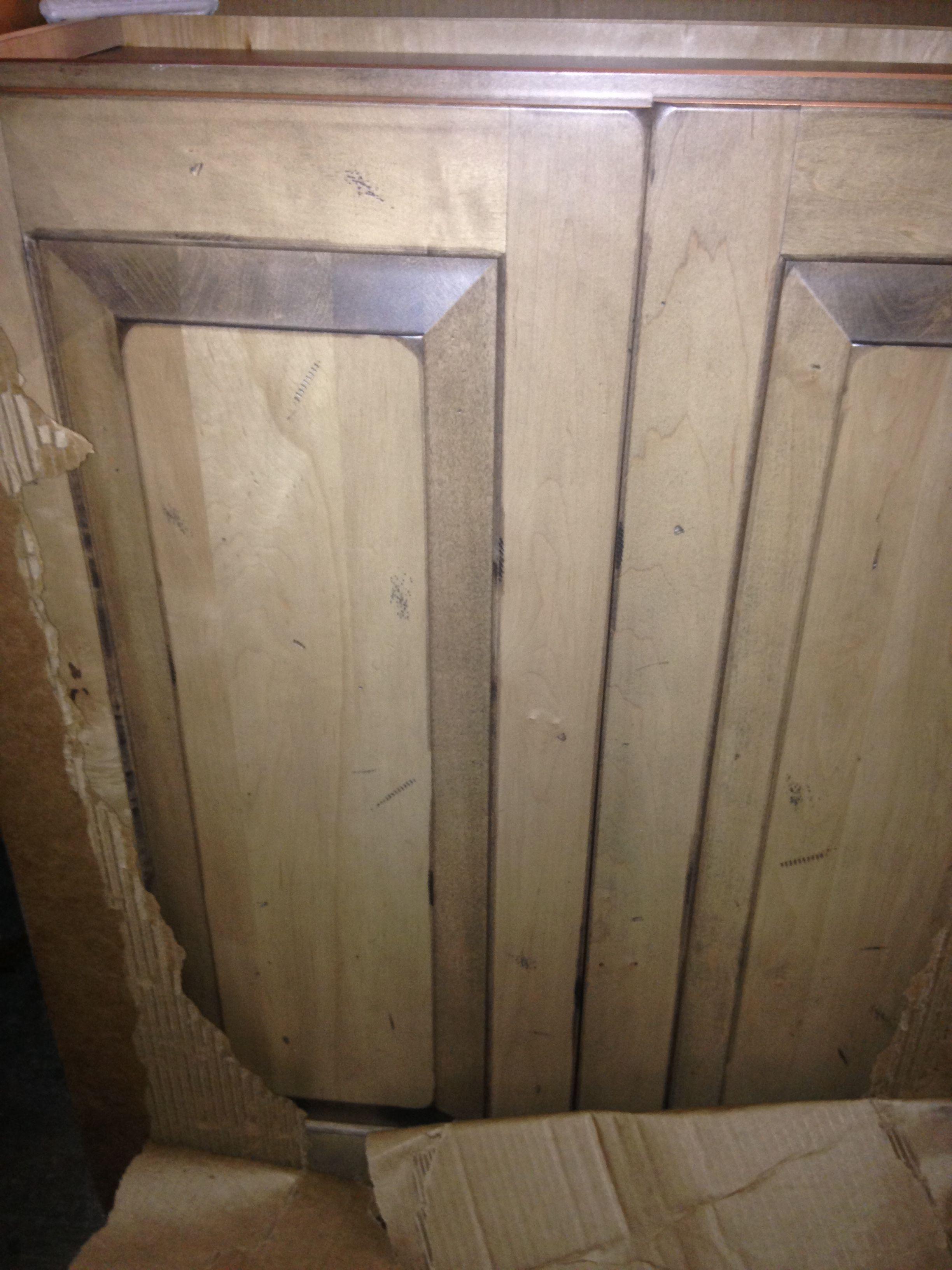 Kitchen Cabinets Around Perimeter Kraftmaid Distressed
