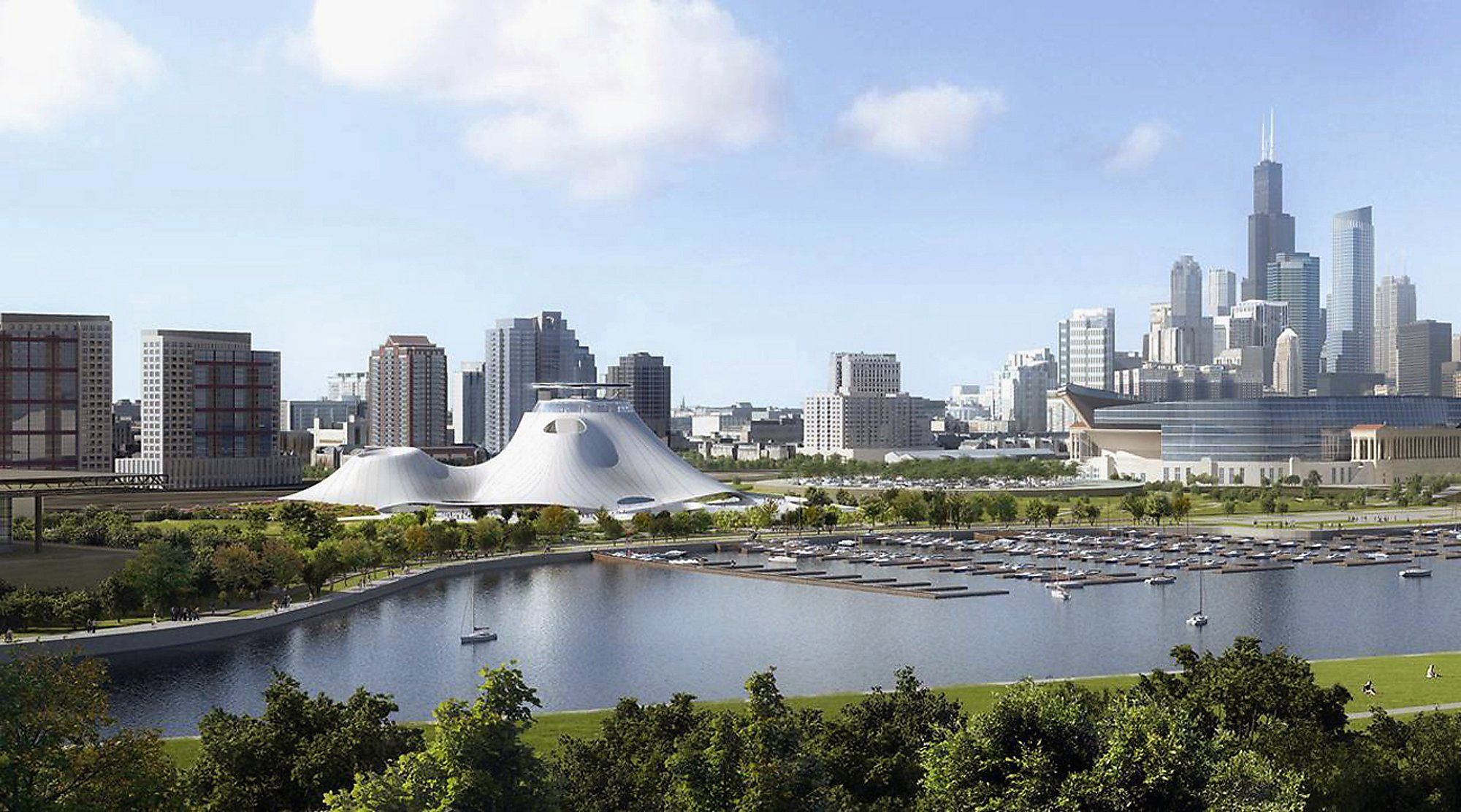 Lucas gives up on Chicago for his museum, seeks California site - San Francisco Chronicle