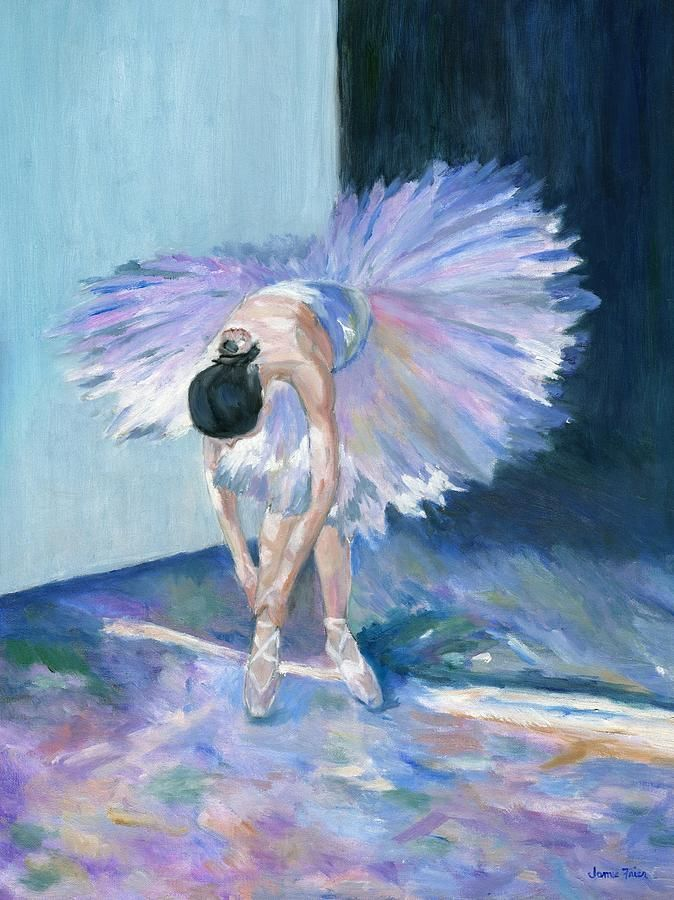 Purple Ballerina Paintings for Sale | Art | Ballerina painting