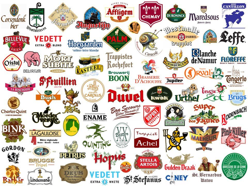 Artisan Belgian beers...and I'm working my way through them all!