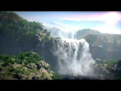 Create Gorgeous Waterfalls - Blender Tutorial - 03