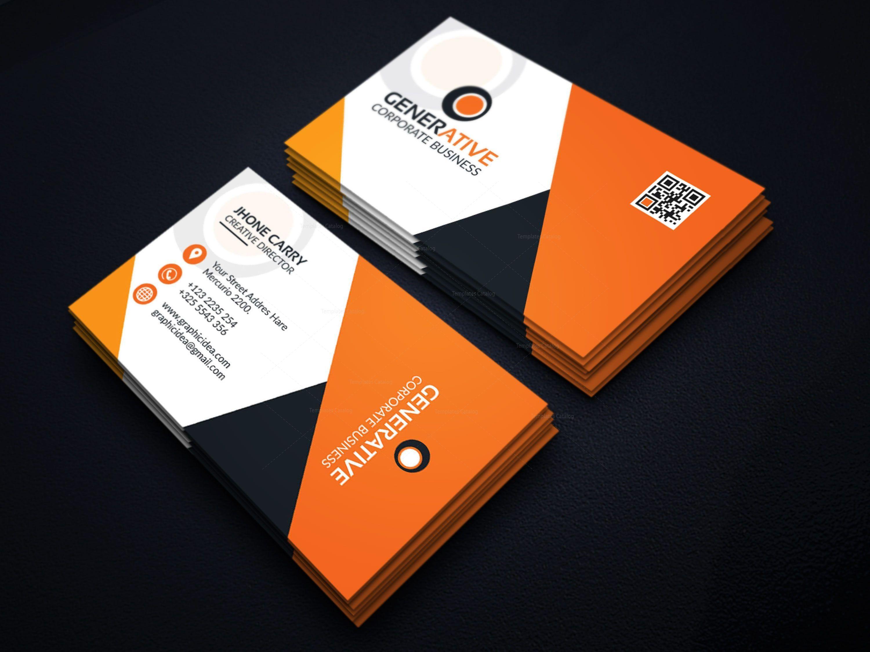 Eps Sleek Business Card Design Template 001599 Template Catalog Business Card Design Business Card Template Design Business Card Design Creative