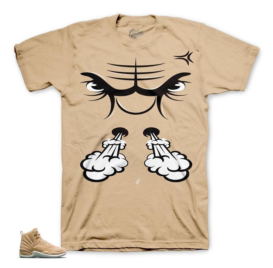 3b0538a989b01a Jordan 12 Vachetta Tan Shirt - Bullface - Natural