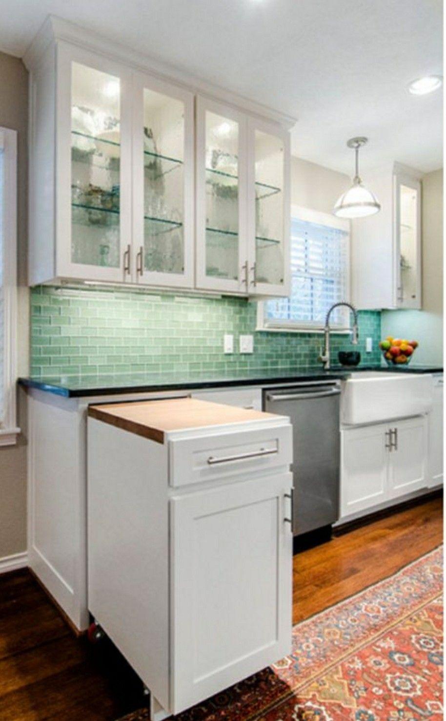 Mobilna wyspa, dodatkowa przestrzeń do pracy w kuchni | Kitchens ...