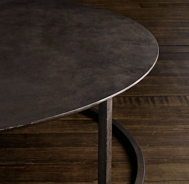 Round Coffee Table Restoration Hardware 9