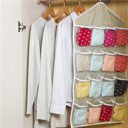 organizer Hanging Organizers Multifunction Clear Socks Shoe