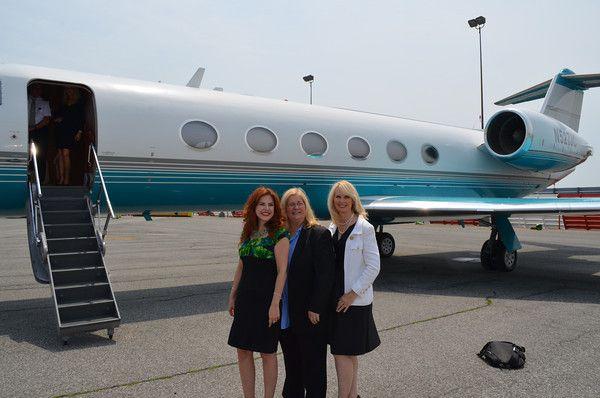 Our #byg high profile event team Lorraine, Donnetta and Sara