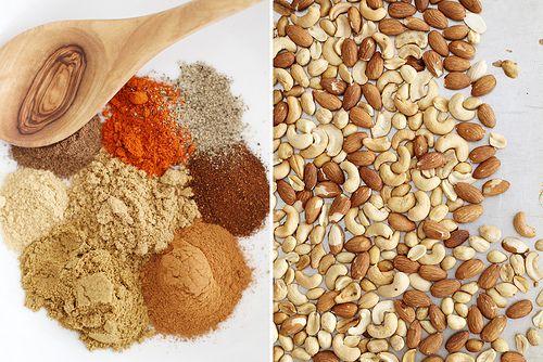 moroccan spiced nuts by girlversusdough, via Flickr